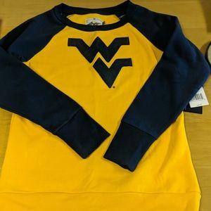West Virginia University women's sweatshirt